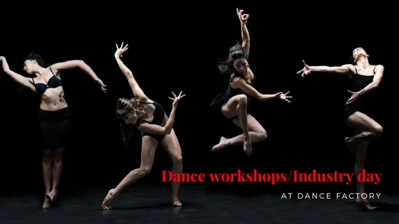 dance workshops; industry day; dance factory; dance; dance melbourne