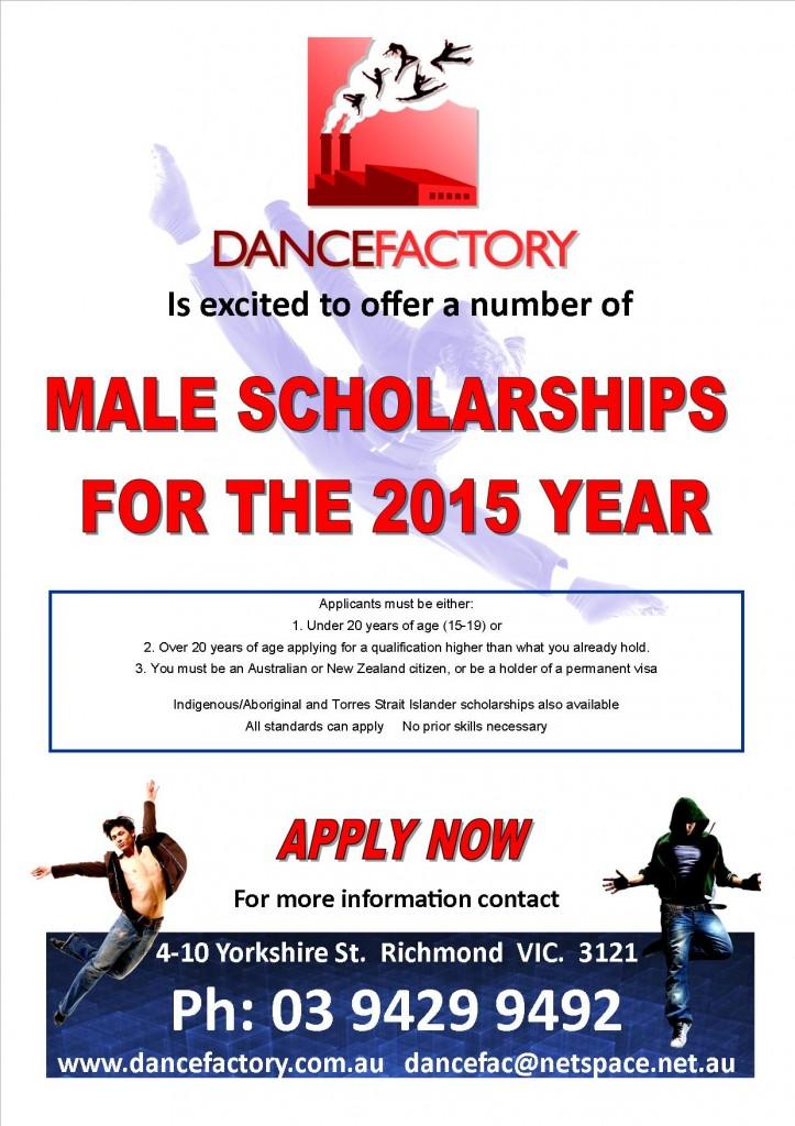 male scholarship basic information